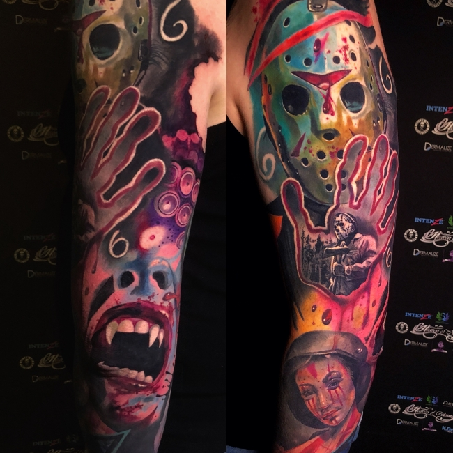 Tattoo Dresden Colour Sleeve Constantin Schuldt