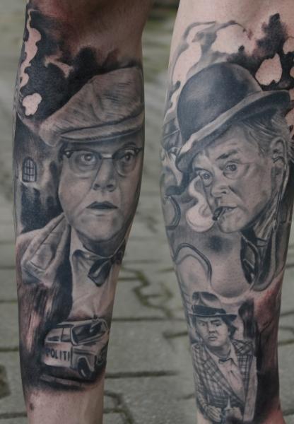 Tattoo Dresden Constantin Schuldt Portraits OlsenBande