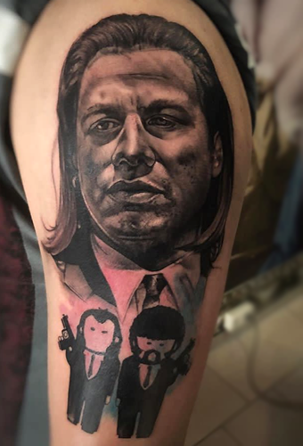 Tattoo Dresden Constantin Schuldt Pulp Fiction