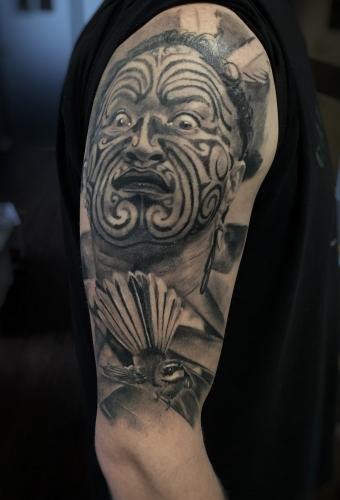 Tattoo Dresden Portrait Constantin Schuldt